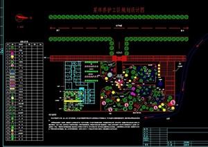 住宅小区规划及建筑cad方案图
