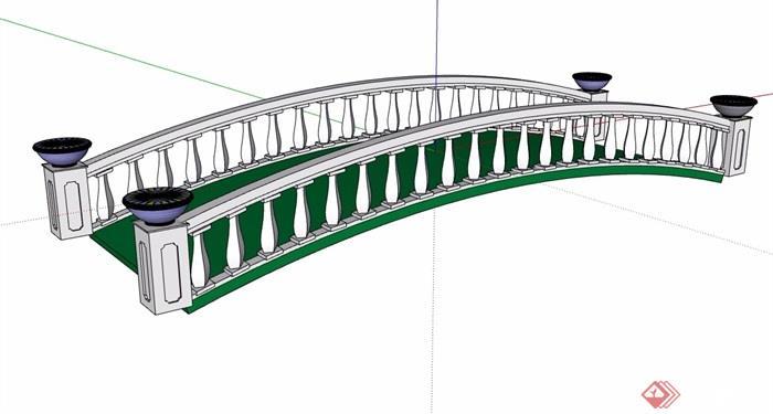 欧式过河园桥美食v美食su素材幼儿园跳蚤市场模型海报设计图片