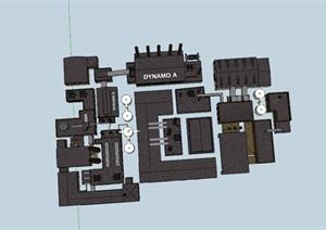现代工厂规划工业产业园