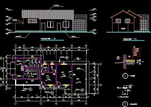 管理房建筑设计图纸