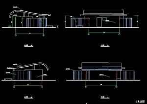 现代单层公厕建筑方案