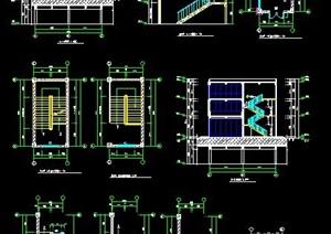 多层建筑楼梯设计图