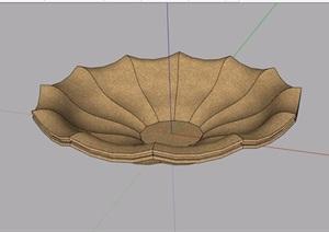 欧式景观花钵素材设计SU(草图大师)模型