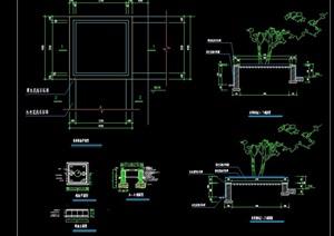 精致详细的完整树池设计cad施工图