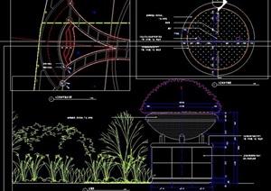 花坛局部设计图纸