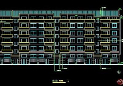 小区六层住宅楼设计施工图