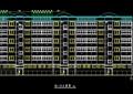 现代5层公寓住宅楼建筑施工图