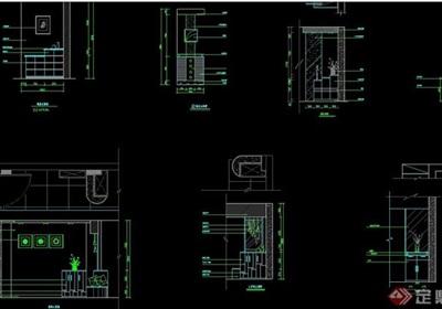 家装CAD图块鞋柜