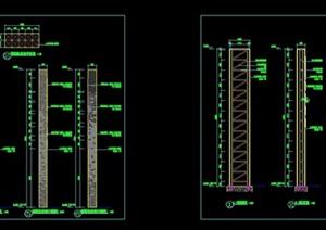精神堡垒全套CAD施工图