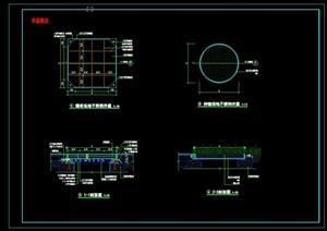 景观井盖CAD施工图做法详图