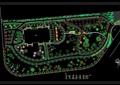 详细的游园景观规划设计cad平面图