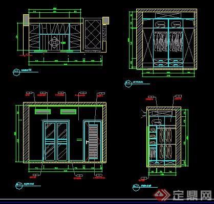 某联排别墅室内装修设计图武汉别墅哪些图片