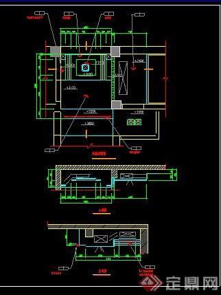 某联排别墅室内装修设计图带的固始别墅证图片