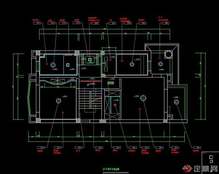 某联排别墅室内装修设计图