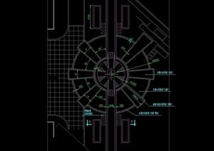 详细的广场cad方案