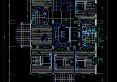 三层别墅装饰设计方案图