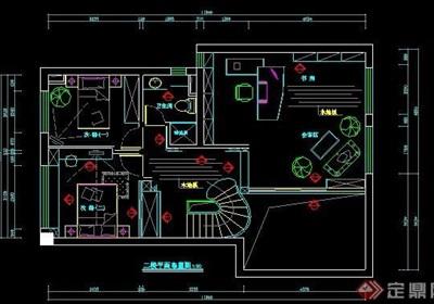 三层别墅家装设计室内图纸