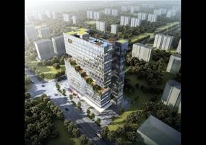 老挝万象办公、公寓大楼1008