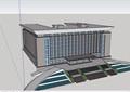 综合行政办公建筑楼设计su模型