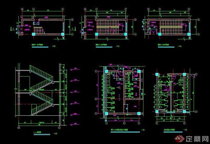 剪刀楼梯设计详图
