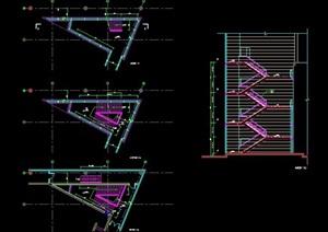 建筑楼梯节点设计图
