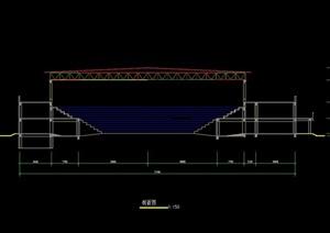 体育馆详细设计cad方案