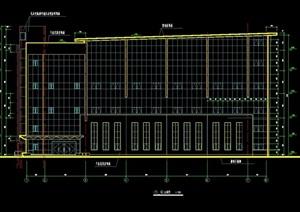 详细的多层体育馆设计cad施工图