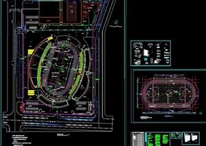 某详细体育场综合工程cad建施图