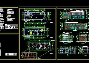 某售楼部建筑设计方案及施工图
