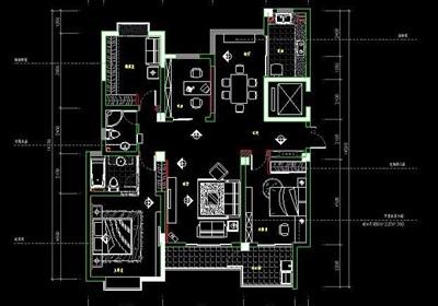 四室两厅家装室内设计方案
