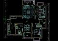 三居室家装住宅室内方案