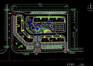 小区总体规划平面图