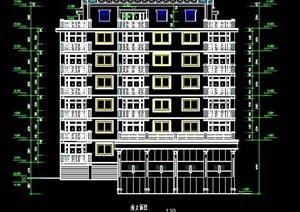 小高层商业住宅楼建筑方案