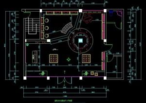 专卖店服装店室内设计施工图