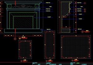 家装壁炉设计图