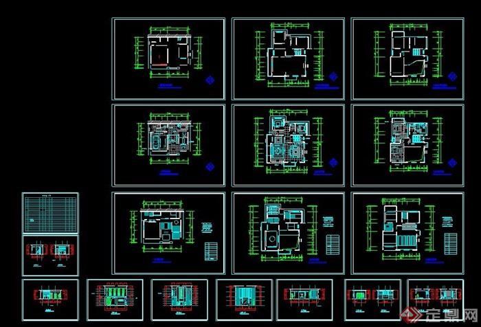 三层中式风格别墅装修设计方案