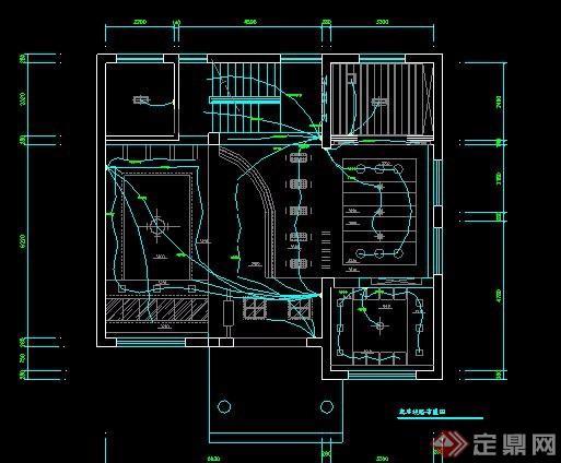 某二层别墅室内装修设计图