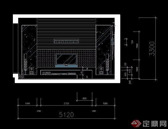 二层复式住宅别墅装饰设计图