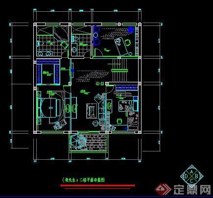 三层现代别墅室内装修方案图