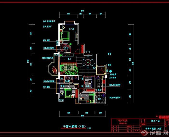 某现代风格两个住宅建筑设计cad方案