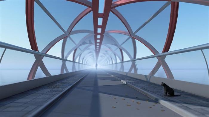 单跨螺旋桥(1)