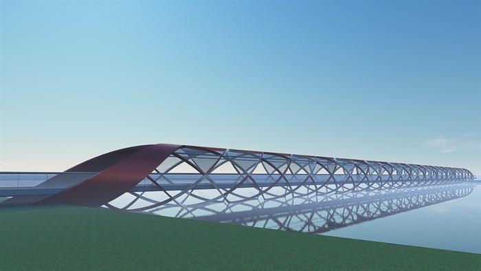 单跨螺旋桥(2)