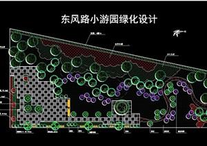 现代详?#24863;?#28216;园绿化设计cad平面图