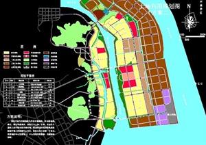 新城区详细总体规划cad图纸