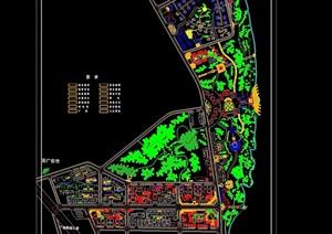 某详细的修建性住宅小区详细规划cad方案图