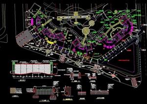 世纪村总图土建小区设计cad方案