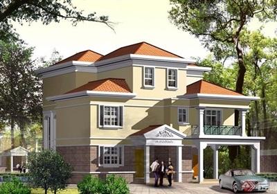 三層獨棟別墅cad施工圖設計