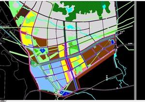 土地利用城市规划设计cad方案