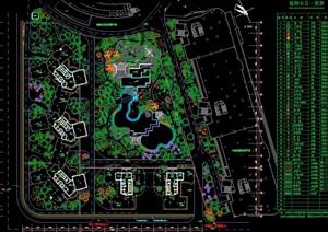 体育公寓小区景观设计cad方案