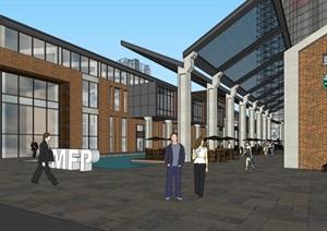 旧厂房改造LOFT创意办公楼旧厂区改造创意文化街区